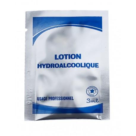 Lotion hydroalcoolique en dosettes 3ml - Ct. 500
