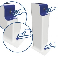 Distibuteur de gel hydroalcoolique pour le bidon ELIGEL A 5L