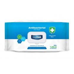 Lingettes bactéricide  DEEP FRESH - sachet de 100