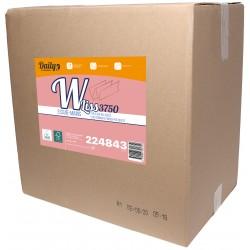EMP 2 pl. lisses en W pure ouate blanc Ecolabel 21x31cm - Ct de 3760