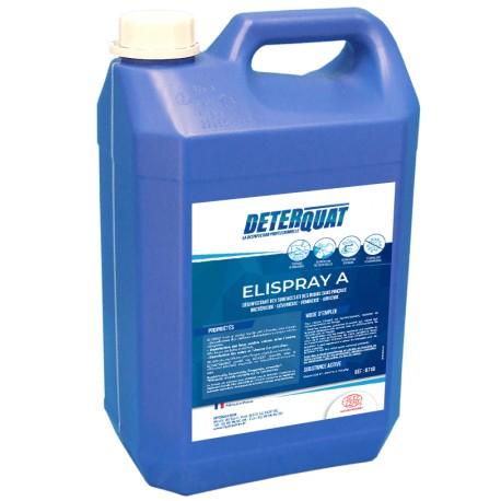 Désinfectant surfaces sans rinçage A715 ELISPRAY A - Bidon de 5L