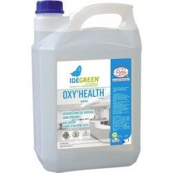 Désinfectant des surfaces OXY'HEALTH IDEGREEN -1086- Bidon 5L