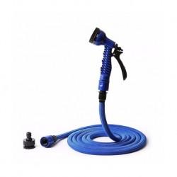 Tuyau d'arrosage extensible de 12.5 à 25m NAJA25 bleu