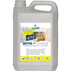 Nettoyant bactéricide virucide  BACYDE + Concentré - Bidon 5L