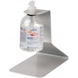 Support de table pour bouteille de gel hydroalcoolique