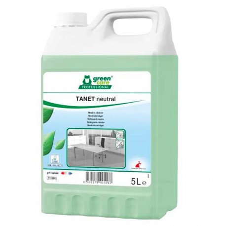 Nettoyant surfaces TANET NEUTRAL multi-usages ECOLABEL - Bidon 5L