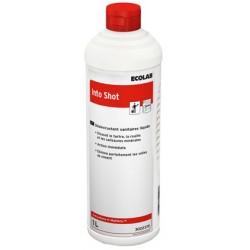 Désincrustant liquide wc INTO SHOT ECOLAB - 3022370 - Bidon 1L