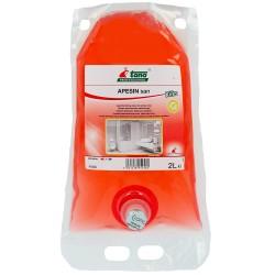 Nettoyant désinfectant APESIN SAN - Ct.2X2L