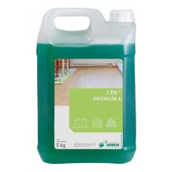 Détergent désinfectant sols&surface 3en1 PREMIUM A - Bidon 5kg