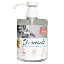 Gel hydroalcoolique parfumé ELI -2235- 500ml à pompe