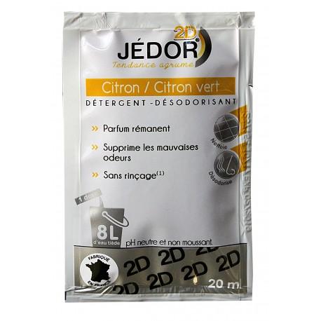 Dosettes 20ml JEDOR  détergent surodorant 2D - Ct. de 250
