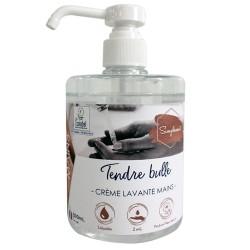 Crème lavante mains Ecolabel IDEGREEN - 1821 - Flacon 500ml à pompe