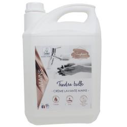 Crème lavante mains Ecolabel IDEGREEN Fleur de lin - 1821 - Bidon 5L