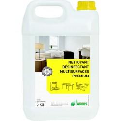 Nettoyant désinfectant multi-surfaces PREMIUM ANIOS - Bidon 5kg