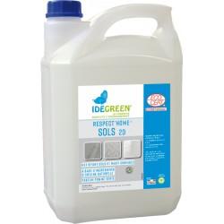Nettoyant sols RESPECT HOME SOLS ECOCERT IDEGREEN -1862- Bidon de 5L