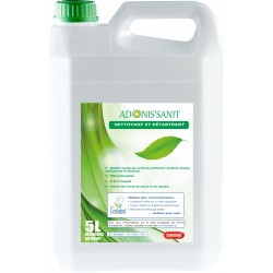 Nettoyant sanitaire ADONI'S SANIT ECOLABEL LABOJAL - Bidon 5L