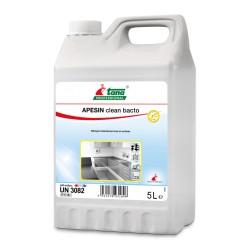 Détergent désinfectant APESIN CLEAN BACTO sols & surfaces - Bidon 5L