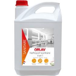ORLAV - 245 - Nettoyant sanitaire 4 en 1 -  Bidon 5L