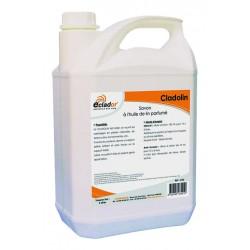 Savon liquide à l'huile de lin pour sol naturel CLADOLIN 229 Bidon 5L
