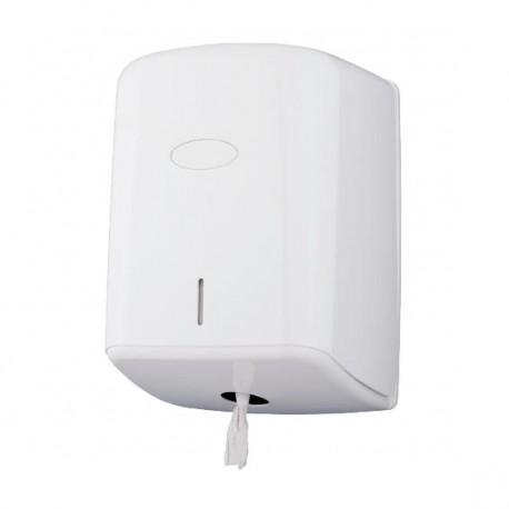 Distributeur à dévidage central ABS blanc Ø205mm