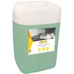 Liquide rinçage 50 ORLAV | Eaux dures - 404 - Bidon 20L
