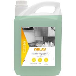 Liquide rinçage 50 ORLAV | Eaux dures - 404 - Bidon 5L