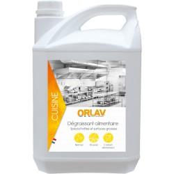 DEGRAISSANT ALIMENTAIRE liquide toutes surfaces ORLAV -212- Bidon 5L