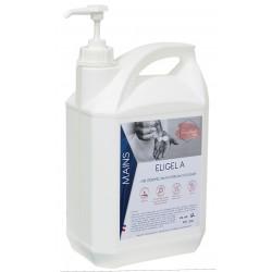 Gel hydroalcoolique - 3131- ELIGEL A - bidon 5L + 2 pompes - Ct. 4