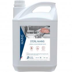 Crème lavante désinfectante STERIL MAINS - 0437 - Bidon 5L