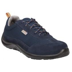Chaussures basses cuir croute velours COMO S1P (35 à 48)
