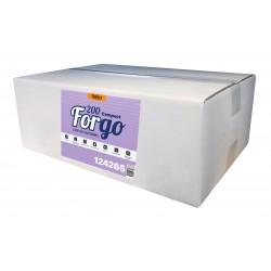 Essuie-tout ménager compact 200 fts g/c pure ouate blanc - 12 bob.