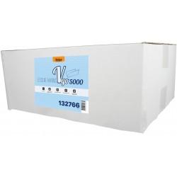 EMP 2 pl. g/c en V recyclé blanc 22.5x21cm - Ct de 5000