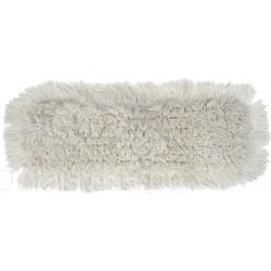 Frange coton L 40cm poches et languettes