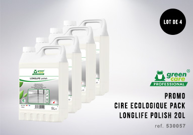 Pack cires eclogique longlife polish
