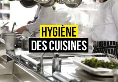 Produits de l'hygiène des cuisines