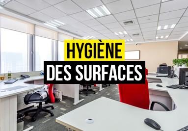 Produits hygiènes des surfaces